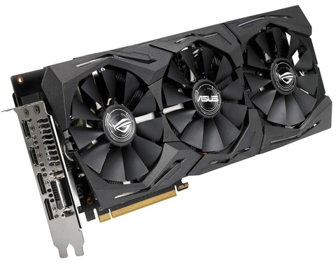 Asus Strix Rx580 O8 G Gaming Tarjeta De Video Pci Express 8 Gb Gddr5 Dvi Hdmi 56 Bt - ordena-com