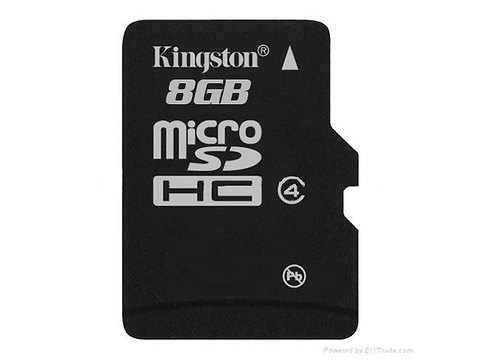 Kingston Sdc4/8 Gb Micro Sd 8 Gb Clase 4 - ordena-com.myshopify.com