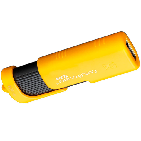 Kingston Dt104 Memoria Usb 2.0 16 Gb, Amarillo - ordena-com.myshopify.com