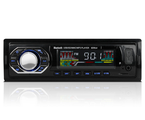 Zonar BT-7202 Autoestereo Bluetooth Mp3 Usb Sd Aux Radio Fm RGB - ordena-com
