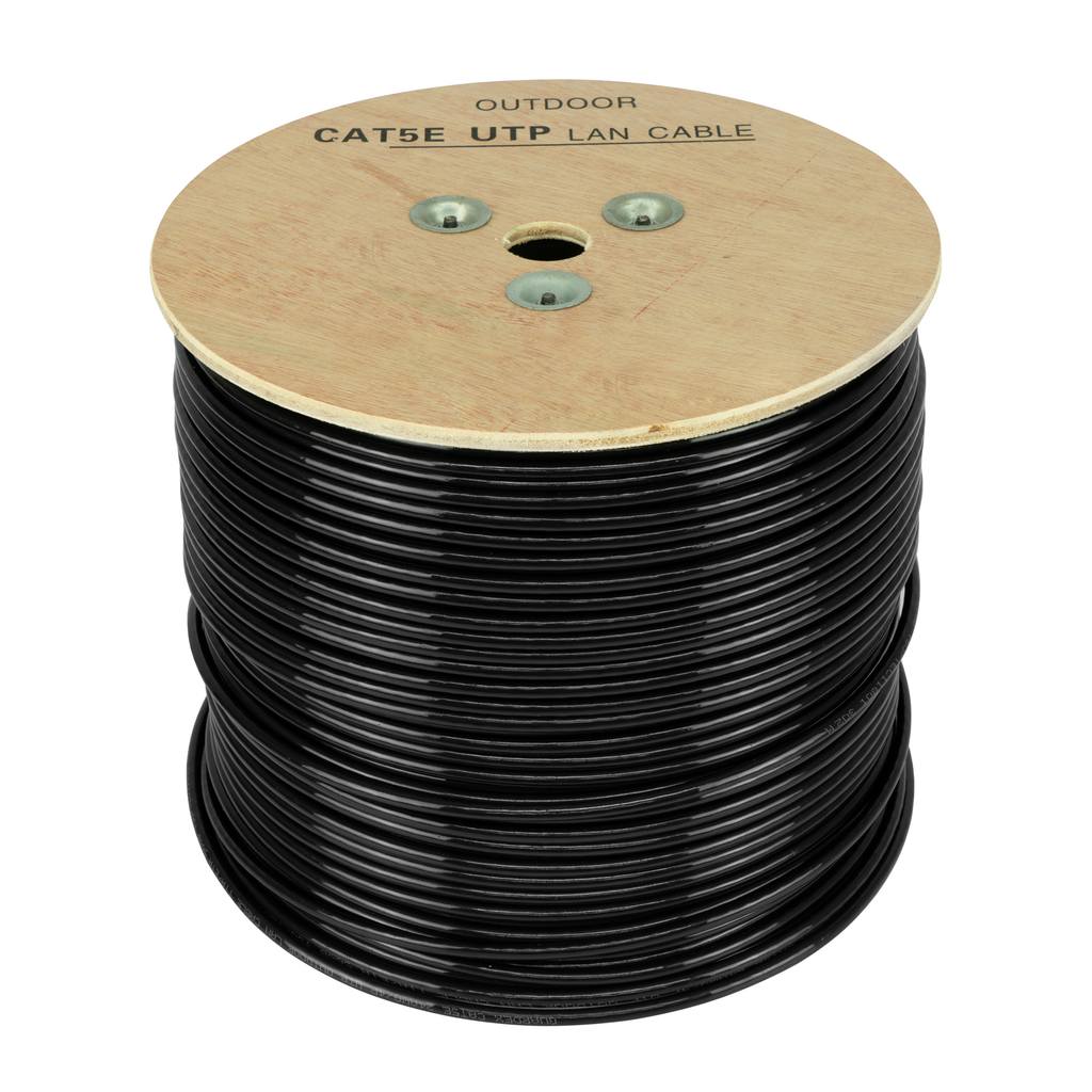 Cable UTP de Red para Exterior Blindado Calibre .56mm Cat 5e