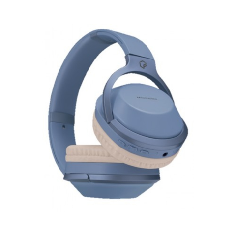Lf Acustics Audífonos Over Ear Azul Bluetooth