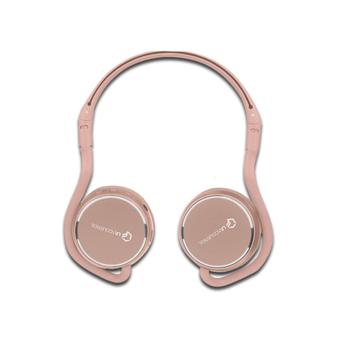 Lf Acustics Audífonos On Ear Rosa Bluetooth Mini Supraaurales