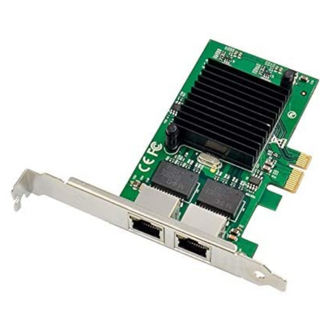 Tarjeta de red para servidor Intel 82575EB Gigabit Ethernet