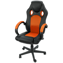 Silla Pc Gamer Ajustable Reclinable Gaming Vinipiel Comoda - ordena-com
