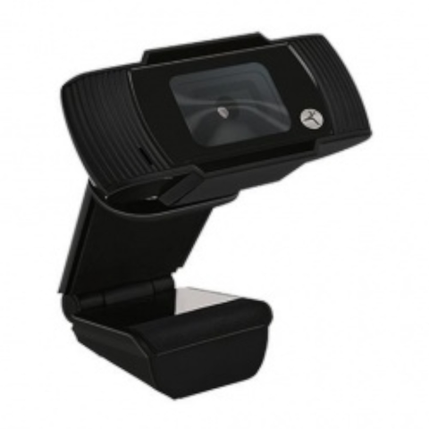 TechZone Webcam TZCAMPC01, 720p, USB/3.5mm, Negro