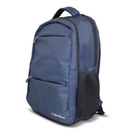 Techzone Mochila Para Laptop Azul Warrior 15.6 plg