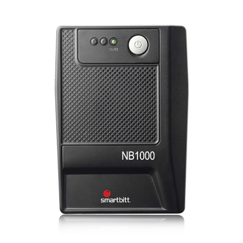 Smartbitt Sbnb1000usb No-Break 1000va/500 Watts, 6 Contactos, Rj-11