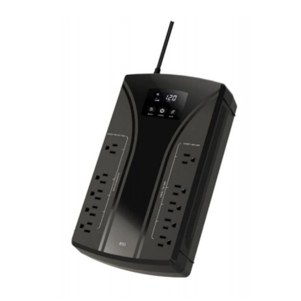 Koblenz 7522 -USB No-Break 750va/420w 10 Contactos Nema 5-15r 5