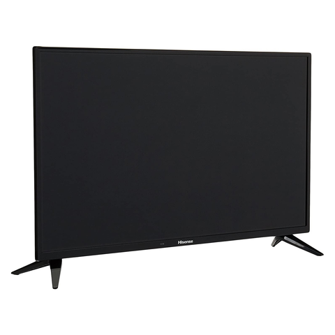 Hisense Tv Hd Led 32pul Basica Con 2 Hdmi Y 1 Usb, Color Negro
