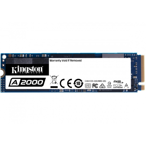Kingston SA2000M8/1000G Unidad Ssd 1tb Nvme M.2 Internal Ssd Security Suite