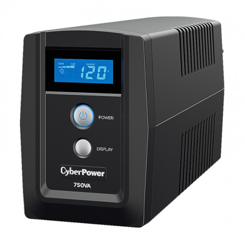 Cyberpower Om750atlcd Ups/No Break 750va/420w Lcd/Avr/6 Nema