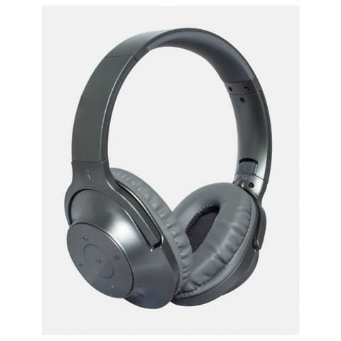 Ginga Audífono Chrome Gris Metalizado Dj Bluetooth