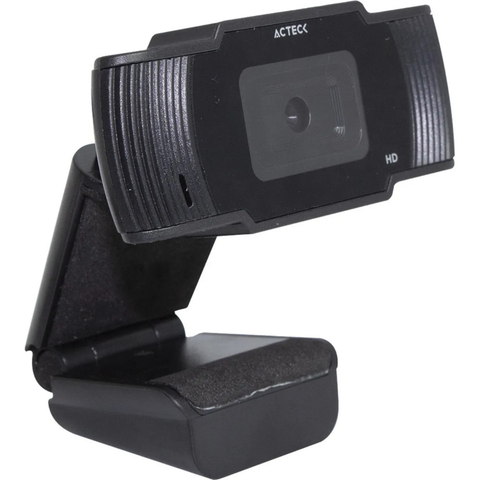 Camara Webcam Hd Acteck Wm20 Microfono 3.5mm Skype Zoom Usb