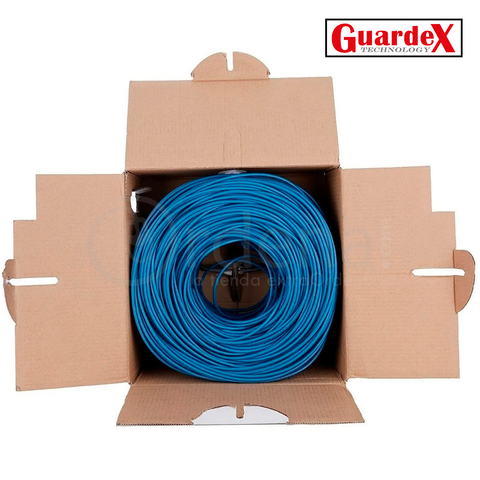 Bobina Cable de Red Cat 5e Cal 0.42 mm Interior UTP 300 m