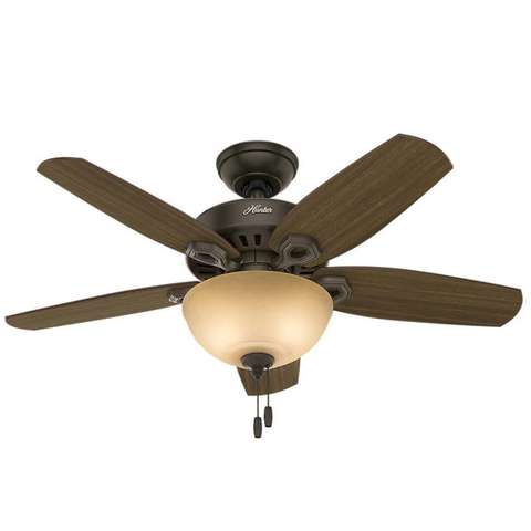 Ventilador De Techo Hunter Builder Small Room 42 Pulgadas