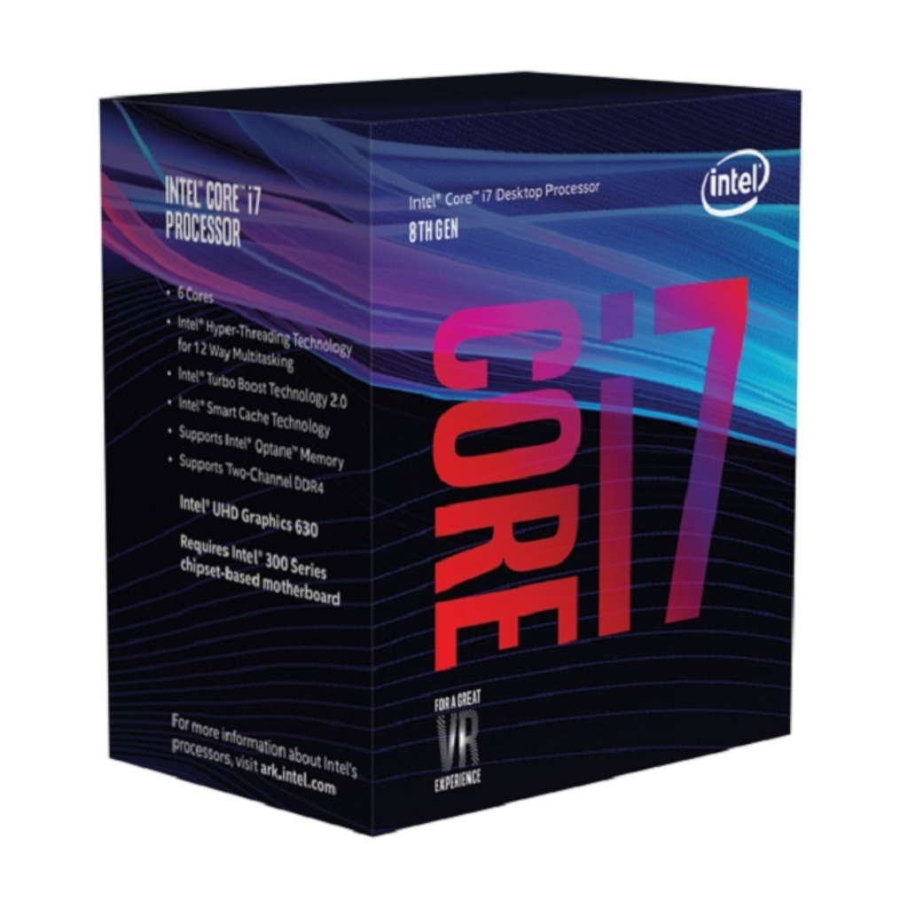 Intel Bx80684i78700 Cpu Core I7 8700 3.2ghz 12mb 65w Soc1151 8th Gen
