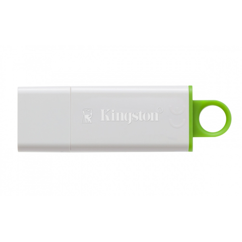 Kingston DTIG4/128GB Memoria USB DataTraveler I G4, 128GB, USB 3.0, Verde/Blanco