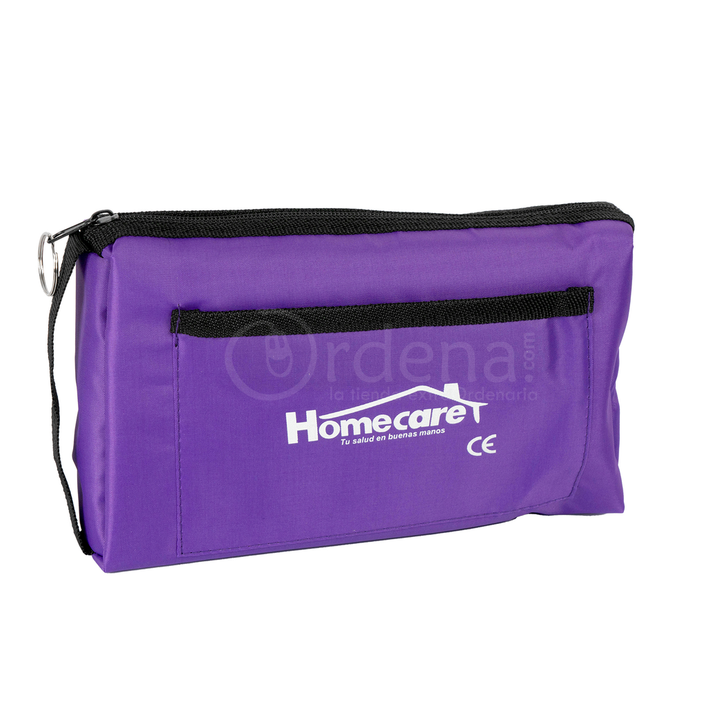 Homecare Dmh2600 Kit Baumanometro Estetoscopio Doble Morado