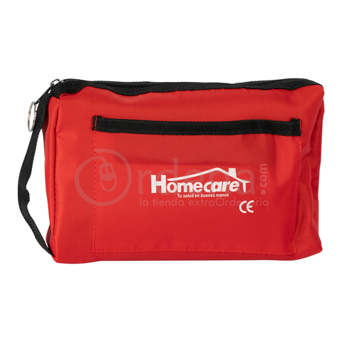 Homecare Dmh2000 Kit Baumanómetro Estetoscopio Simple Homecare Rojo