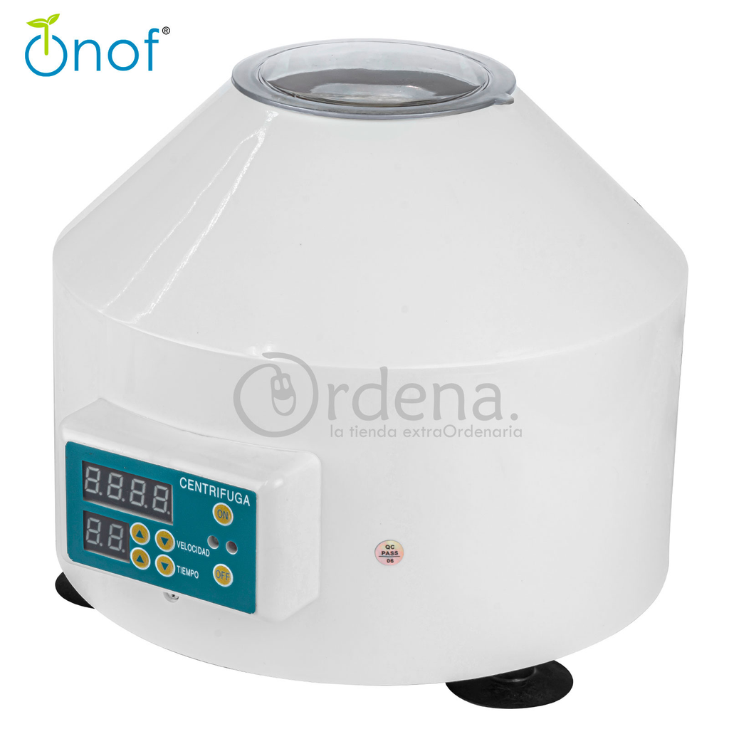 Maquina Centrifuga Digital 6 Tubos Timer Velocidad Variable