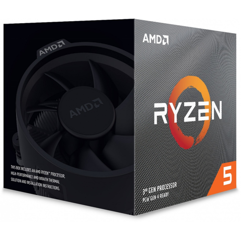 Amd 100-100000281box Cpu Ryzen 5 3600xt 3.8ghz 32mb 95w Soc Am4