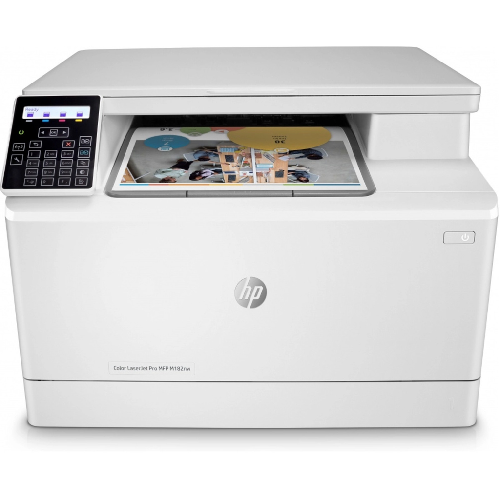 Hp M182nw Multifuncional Laserjet Color Pro Inalambrica