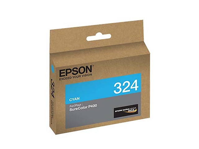 Epson T324 Cartucho Para Sure Color P400, 14 Ml, Cyan - ordena-com.myshopify.com