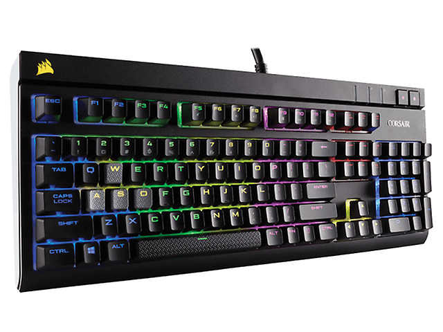 Corsair Strafe Rgb Teclado Mecanico Gaming Cherry Mx Red, Usb, Sp - ordena-com