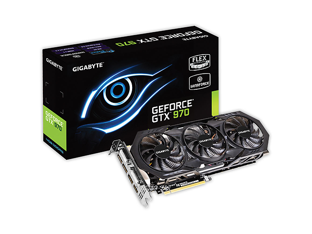 Gigabyte Gv N970 Wf3 Oc 4 Gd Tarjeta De Video Gtx 970 Wind Force 3 X Oc 4 Gb Ddr5 - ordena-com.myshopify.com
