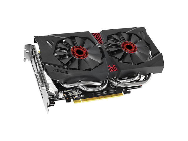 ASUS STRIX-GTX960-DC2OC-4GD5 Tarjeta de Video 4GB PCIe3.0 DVI/HDMI