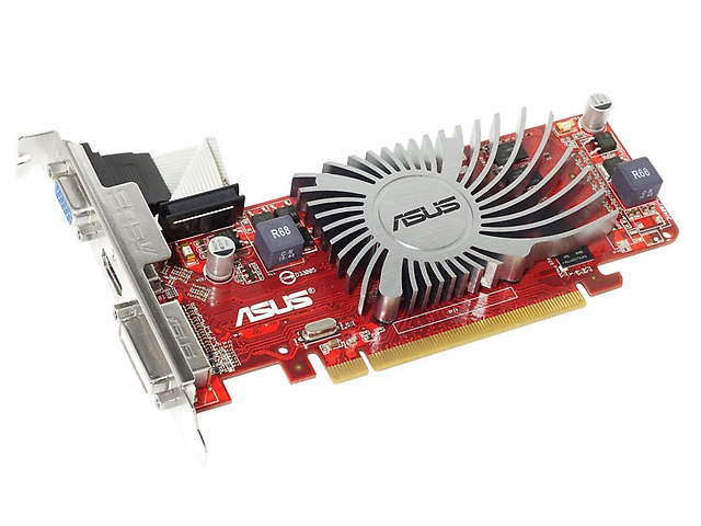 ASUS HD6450 Tarjeta de Video HD 6450 AMD Radeon PCI2.1 VGA/DVI/HDMI