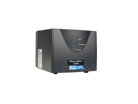 Opti Ups Avr Ss1200 Automatic Voltage Regulator 6 Outlets 525 Joules Black - ordena-com.myshopify.com