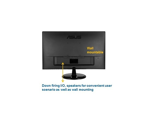 Asus Vp279h Monitor Led 24.0 pulg, 1920x1080 Vga/Hdmi