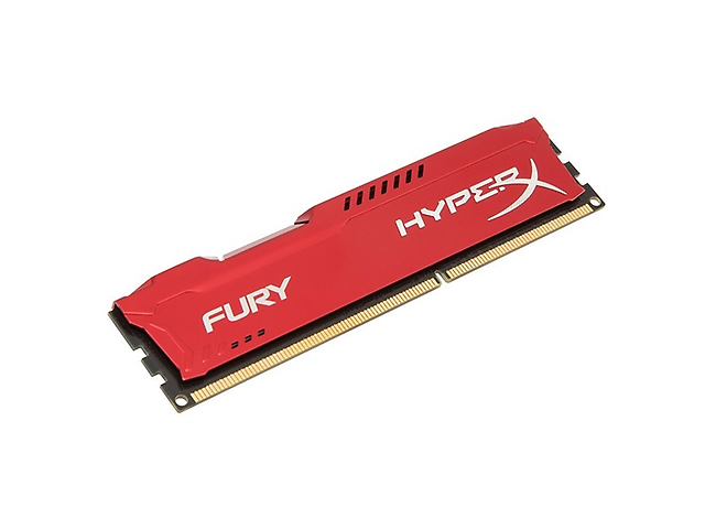 KINGSTON HX316C10FR/4 Memoria DDR3 Hyperx Fury Red 4GB 1600MHZ