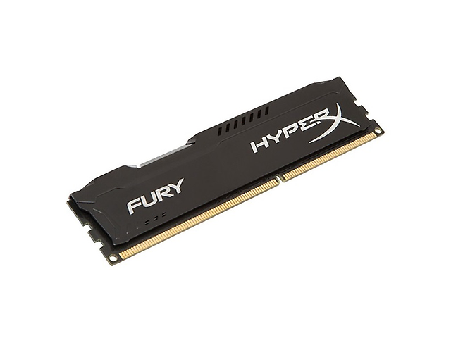 KINGSTON HX316C10FB/4 Memoria DDR3 Hyperx Fury Black 4GB 1600MHZ