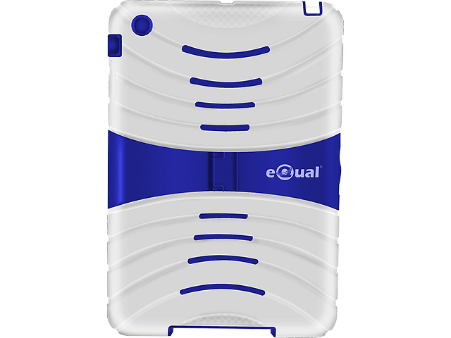 EQUAL Funda Uso rudo Ipad Mini Blanco - Azul