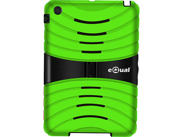 Equal Funda Uso Rudo Ipad Mini Verde   Negro