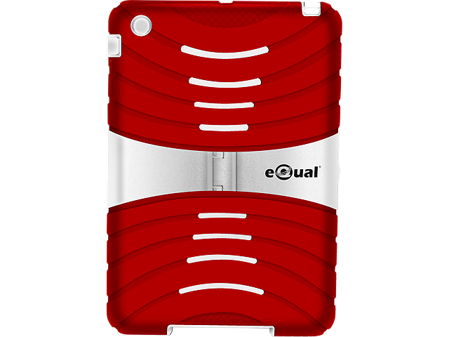 EQUAL Funda Uso rudo Ipad Mini Rojo - Blanco