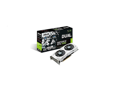 Asus Dual Gtx1060 O6 G Tarjeta De Video Nvidia Geforce Gtx 1060, Pci Express 3.0