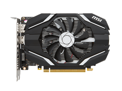 Msi Ge Force Gtx 1050 Ti 4 G Oc Tarjeta De Video Pcix 3.0 Gddr5 7680 X4320 Dplay - ordena-com