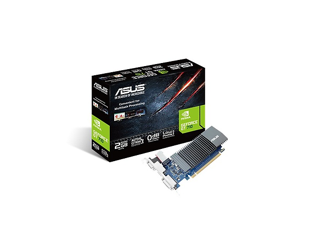 Asus Ge Force Gt 710 Tarjeta De Video Nvidia Pci Express Gddr5 2 Gb 5012 M Hz - ordena-com.myshopify.com