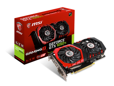 Msi Geforce Gtx 1050 Ti Gaming X 4 G Gddr5 4 Gb Dp/Hdmi/Dl Dvid 10c - ordena-com.myshopify.com