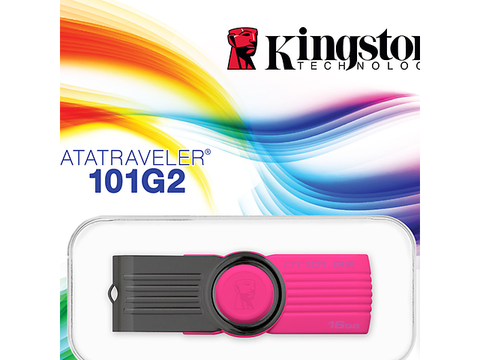 Kingston Dt 101 G2 Memoria Usb 2.0 16 Gb Color Rosa - ordena-com.myshopify.com