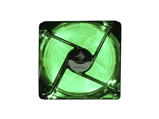 Eagle Warrior ACLEDFANGRE12EGW Ventilador Gaming 12cm LED Verde