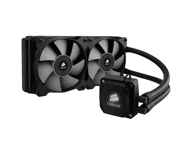 CORSAIR H100i Ventilador Hydro Dual Extreme Performance 240mm
