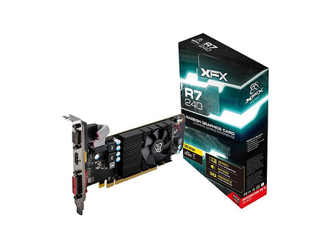Xfx R7 240 A Clf2 Tarjeta De Video 128bit 2 Gb Ddr3 1.6 G Hz