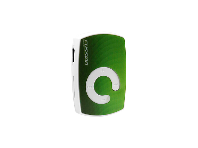 Fussion CR-2014 Reproductor MP3 sin memoria Verde