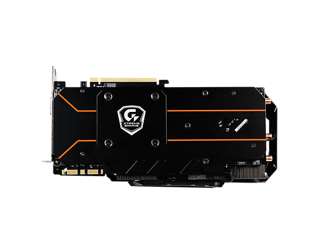 Gigabyte Geforce Gtx 1070 Tarjeta de Video Xtreme Gaming DDR5 7GV-N1070XTREME-8G