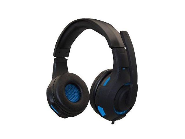 Naceb Na 0304 A Audifonos Gamer Alambrico 3.5mm Color Negro/Azul - ordena-com
